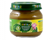 Heinz пюре 80 гр в ассортименте* (овощи: брокколи, кабачки, тыковка, морковочка)