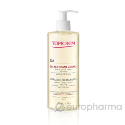 Topicrem гель ультра-риш очищающий для атопичной кожи 500мл