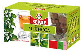 Мелисса 1 гр, №20, фито чай
