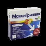 МаксиГриппин® порошок мед-лимон 5 г № 10 саше
