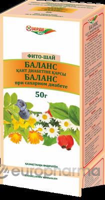 Баланс 50 гр, фито чай, (при сахарном диабете)