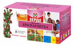 Красная щетка 1 гр, №20, фито чай