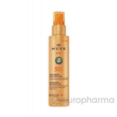 Nuxe Sun солнцезащитный спрей для лица и тела 200мл