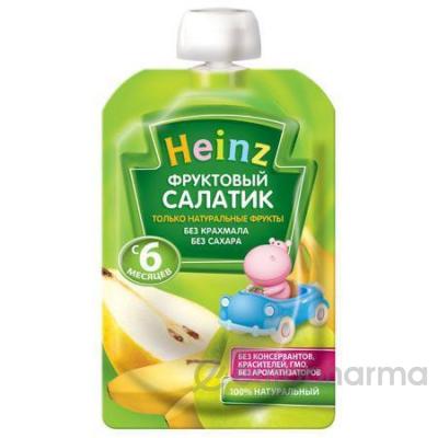 Heinz пюре Фруктовый салатик 90 гр