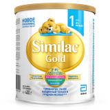Similac смесь Gold 1 молочная для детей с 0 месяцев 400 г