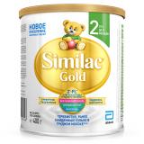 Similac смесь Gold 2 молочная для детей с 6 месяцев 400 г
