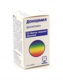 Донормил 15 мг № 30 табл