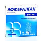Эффералган 500 мг, №16, шипуч. табл.