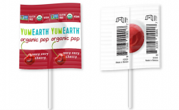 YumEarth Органические фруктовые леденцы на палочке россыпью - 8 вкусов №001008