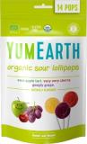 YumEarth Органические фруктовые леденцы на палочке с кислинкой, 14 шт/уп, 3 вкуса №1026