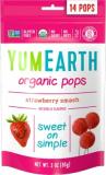 YumEarth органические леденцы на палочке клубника 14 шт №1170