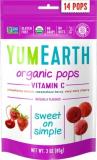 YumEarth Органические фруктовые леденцы на палочке с витамином С, 14 шт/уп, 3 вкуса №1197