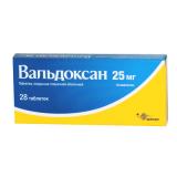 Вальдоксан 25 мг, №28, табл.