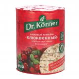 DR.KORNER  ХЛЕБЦЫ СЛАДКИЕ ЗЛАКОВЫЙ КОКТЕЙЛЬ КЛЮКВЕННЫЙ 100ГР