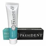 President зубная паста Profi Renome для здоровой белизны 50 мл