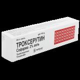 Троксерутин 2% 40 гр гель