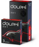 Dolphi презервативы 3 in 1 № 12 шт