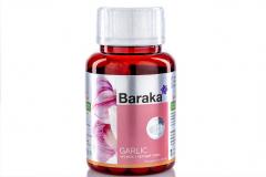 "Масло чеснока + черный тмин  Baraka* ""GARLIC""  90 капсул по 750 мг."