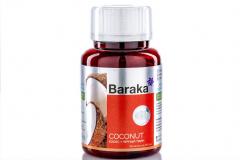 "Масло кокоса + черный тмин  Baraka* ""COCONUT""  90 капсул по 1250 мг"