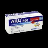 АЦЦ 600 мг № 10 шипуч табл