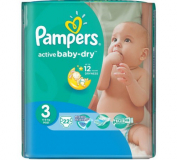 Pampers подгузники Diapers midi 3 RP M1 PPDP  №22