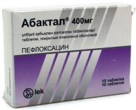 Абактал 400 мг, №10, табл.