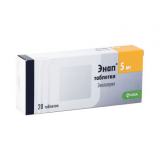 Энап 5 мг № 20 табл