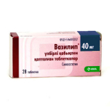 Вазилип 40 мг, №28, табл.