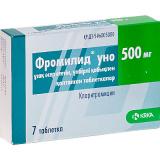 Фромилид УНО 500 мг, №7, табл.