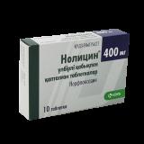 Нолицин 400 мг, №10, табл.