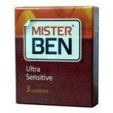 MISTER BEN презервативы ультратонкие № 3 шт
