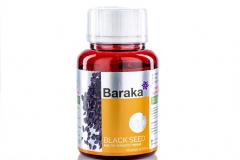 """Масло Черного тмина Baraka* """"BLACK SEED"""" 90 капсул по 750 мг."""
