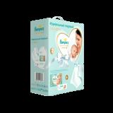Подарочный набор Pampers Premium Care для новорожденных, Размер 2, Вес 4–8кг, Детское Полотенце