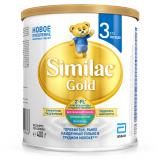 Similac молочная смесь Голд 3 от 12 до 18 месяцев 400 г