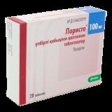 Лориста 100 мг № 28 табл п/плён оболоч