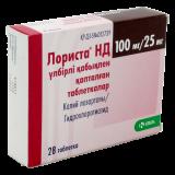 Лориста НД 100 мг/25 мг № 28 табл покрытые оболочкой