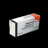 Вальсакор 80 мг № 28 табл покрытые оболочкой