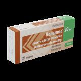 Нольпаза 20 мг № 28 табл покрытые оболочкой