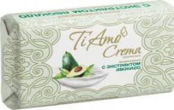"""Мыло туалетное """"Ti Amo Crema"""" с экстрактом авокадо 140г *48"""