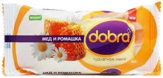 "Мыло туалетное ""BOVARY"" DOBRA Смягчающий крем 60г  72*"