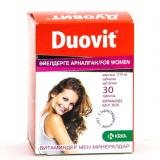 Дуовит №30, табл., для женщин
