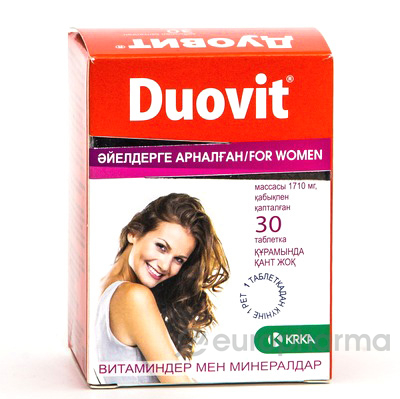 Дуовит для женщин № 30 табл