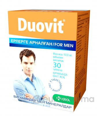 Дуовит №30, табл., для мужчин