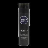Nivea гель Ultra Men черный для бритья 200 мл