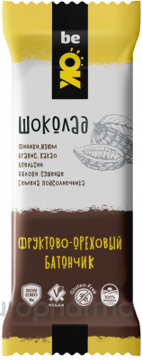 Bio Elite фруктово-ореховый батончик шоколад BE OK 30 гр