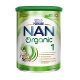 Nestle смесь Nan 1 Organic молочная для детей с 0 месяцев 400 г