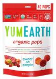 YumEarth Органические фруктовые леденцы на палочке, 40 шт/уп, 8 вкусов