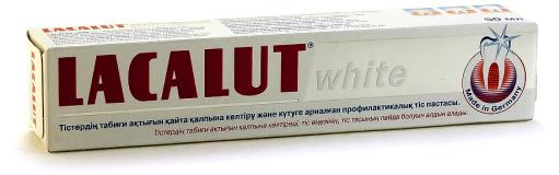 Лакалут зубная паста Отбеливающая 50 гр