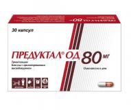 Предуктал ОД 80 мг № 30 капс. с пролон.высв-ем