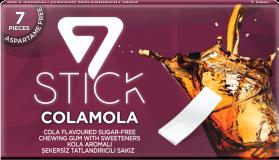 7STICK Жевательная резинка COLAMOLA Кола